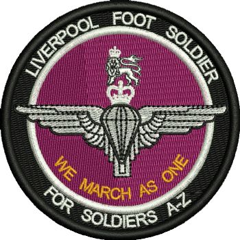 Liverpool Foot Soldier Embroidered Badge